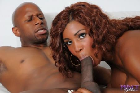 Ebony diva Maseratixxx has big black boobs